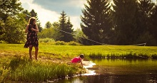 Photo Gallery Kids Fishing